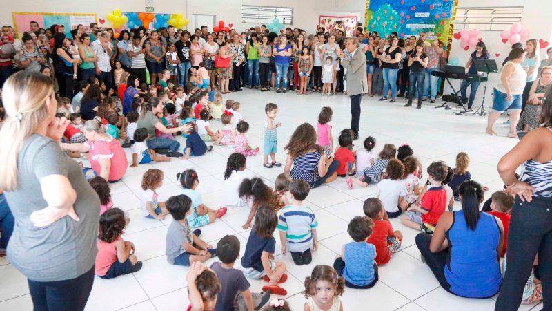 Prefeito acompanha Festa da Família na EM Osmair Guareschi