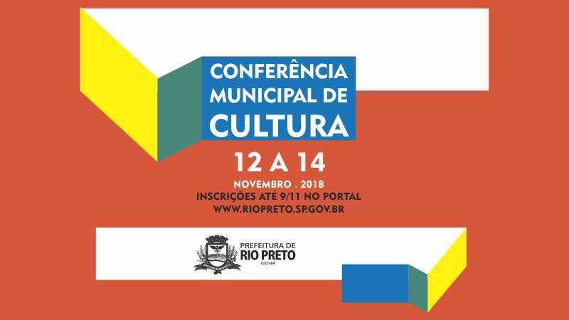 Inscrições abertas para Conferência Municipal de Cultura